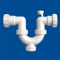 Quality PVC-U Drainage Siphonic U Trap With Cleanout for sale
