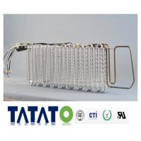 Aluminum Fin Heat Exchanger with Heater For Frost Free Refrigerator Manufactures