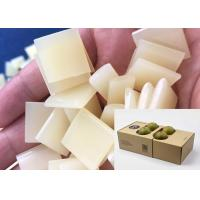 Sheets Shape Glue Pellets Corrugated Carton Sealing 150 - 180 ℃  Operating Time Manufactures