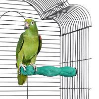 large wave shape calcium perch for bird,rainbow lorikeets and conures,10 inches Manufactures