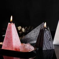 Home Decoration Cone Shape Scented Soy Wax Candle With Luxury Candle Packaging Box Manufactures