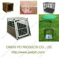 China DFTL-001 20  2 Door Dog Crate & ABS Tray on sale