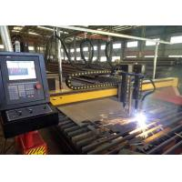 Two Heads Portable CNC Plasma Cutting Machine For Carbon Stainless Steel / Copper Manufactures