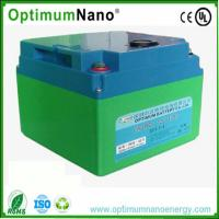 Golf Trolley Lithium Deep Cycle Battery , BMS 12V 30Ah ReplacementPowerToolBatteries Manufactures