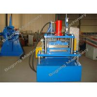 Palisade Fence Highway Guardrail Roll Forming Machine With Touch Screen Control Manufactures