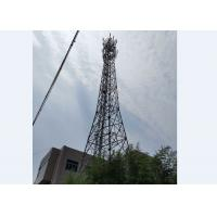 Radio TV GSM Antenna Tower Commercial  Triangular Telecommunication Tower Manufactures
