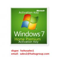 China Windows 7 Home premium key 32/64bit Micrsoft windows 7 product key codes on sale