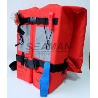 SOLAS / MED Approval 150N Adult Marine Life Jacket Type - I For Open Water Survival Manufactures