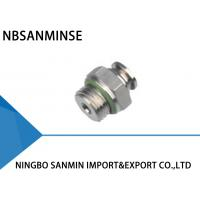 Professional SSC-G Pneumatic Tube Fittings Air Line Connectors M5 - M6 Thread Manufactures