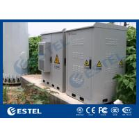 Quality IP55 Galvanized Steel Dust-proof Base Station Cabinet Environment Monitoring Unit, PDU, Telecom Power System (UPS) for sale