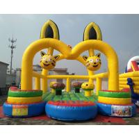 China Anime Themed Inflatable Playground Equipment For Children Healthy And Interactive on sale