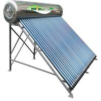 NP-S stainless steel covered outside image solar water heaters Manufactures