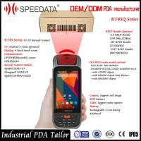 Wifi 4G GPS Android 5.1 Magnetic UHF Rfid Reader Mobile with 2D Barcode Scanner Manufactures
