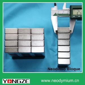 Neodymium NdFeB Block Magnet Imanes Neodimio Bloque Ima Neodimio Manufactures