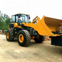 China LG936L Construction Machinery Road Wheel Loader With 92kW WP6G125E22 Engine on sale