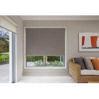 Motorized PVC coated blackout fabric electric retractable blinds for office Manufactures