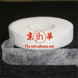 China hotmelt web cement / hotmelt web glue / hotmelt web adhesive fusible elastic interlining on sale