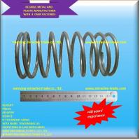 China 6MM high strength long life spring steel auto compression spring on sale