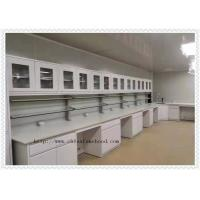 Mould - Proof  School Lab Furniture Island Wrok Bench With Sink Table Manufactures