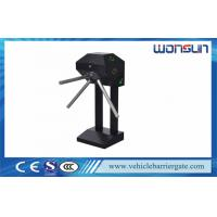 China Semi Automatic Mechanical Tripod Turnstile Barrier Gate For Supermarket on sale