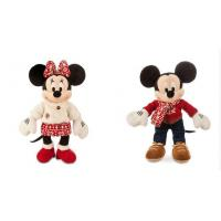 Fashion Disney Plush Toys Christmas Mickey and Minnie Mouse 40cm Manufactures