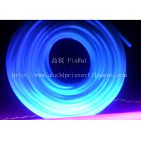 Quality 6mm / 8mm Fluorescent PVC Plastic Flexible Hose Tube UV Resistant for sale