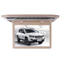1080P Lvds Led Car Roof Mount Monitor Laser Carving Touch Button With SD FM USB HD Manufactures