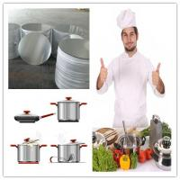 Spinning Cookware Aluminium Disc / Circle 1050 1060 1100 3003 For Kitchenware Manufactures