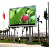 HD Clear Vivid Outdoor Led Video Screen , Outdoor Video Wall For Advertising Show Events Manufactures