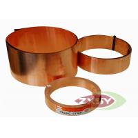 Insulation Adhesive Alloys Of Copper Foil 1380mm Width 0.14mm Thickness Manufactures