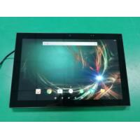 China 10 Inch Auto Boot Up Kiosk Touch Screen Google Play Store Flush Wall POE Control Panel PC on sale