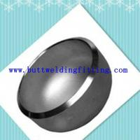 Polished large diameter stainless steel pipe end caps for water conservancy Manufactures