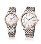 Ladies Fashion Wrist Watch Stainless Steel  Quartz Couple Lovers Watch OEM Men Fashion Watch Manufactures
