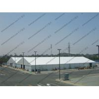 Aluminum Frame Outdoor Warehouse Storage Tent With Sandwich / ABS Sidewalls Manufactures