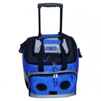 Radio Cooler Trolley Bag  Cooler bag with speaker with trolley Manufactures