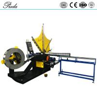 Best price spinning spiral duct fprming machine from China