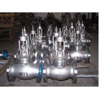 ANSI B16.34 and BS1873 Bolted bonnet / Rising stem type globe valve Manufactures