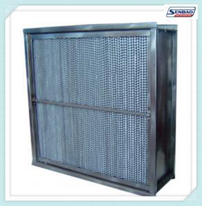Fiberglass Media High Temperature Hepa Filter Cassette Type Home Hepa Filter Manufactures