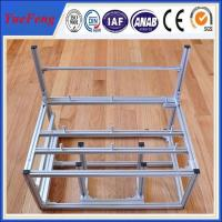 custom aluminum extrusion computer cases, china aluminum frame for natural anodized Manufactures