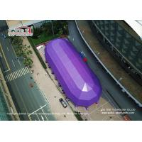 China Custom DIN4102 5.5m PVC Event Tent For Outdoor Basketball Sports on sale