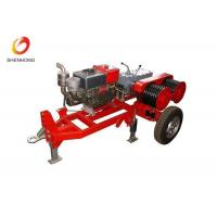 Buy cheap Five Ton Dual Bull Wheel Powered Diesel Winch For Pulling And Tensioning Lines from wholesalers