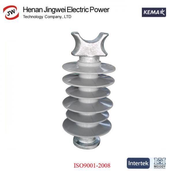 Quality 11kV 24kV 33kV 66kV 110kV Composite Silicon Rubber Polymer Line Post Insulator for sale