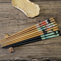 Europe Standard Healthy Tensoge Bamboo Chopsticks in 21mm 24mm Manufactures