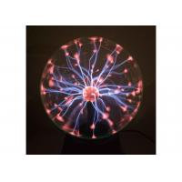 China Tabletop Decoration 4 Inch Plasma Light Ball For Festival Gift , Plasma Globe on sale