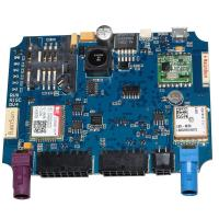 China Blue Pcba Circuit Board Assembly Services , Oem Circuit Boards 1-20 Layers on sale