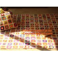 New Retro Daisy Handmade Woolen crochet Sleeping blanket Sofa Bed Casual Nap Throw Fashion Manufactures
