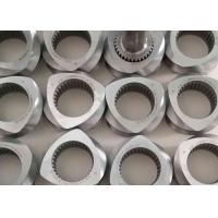Anti Wear Twin Screw Extruder Parts 65mm Polymer Compounding Application for sale