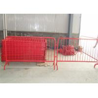 Crowd Control Barriers Manufactuers directly supply RAL 2004 Dupont Powder Coated Crowd Control Barriers Manufactures