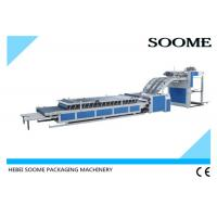 Vacuum Servo Type Semi Automatic Flute Laminator Convenient For Making Surface Paper Manufactures