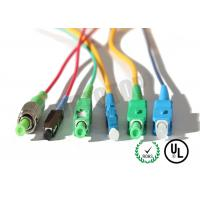 China MM OM 4 Simplex Fiber Optic Patch Cord 2 mm With SC - APC Connector , ROHS Standard on sale